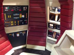 Spaceship interior fabrication