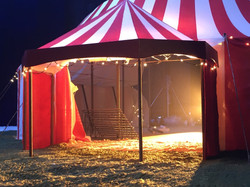 Aldi Tent Model entrance