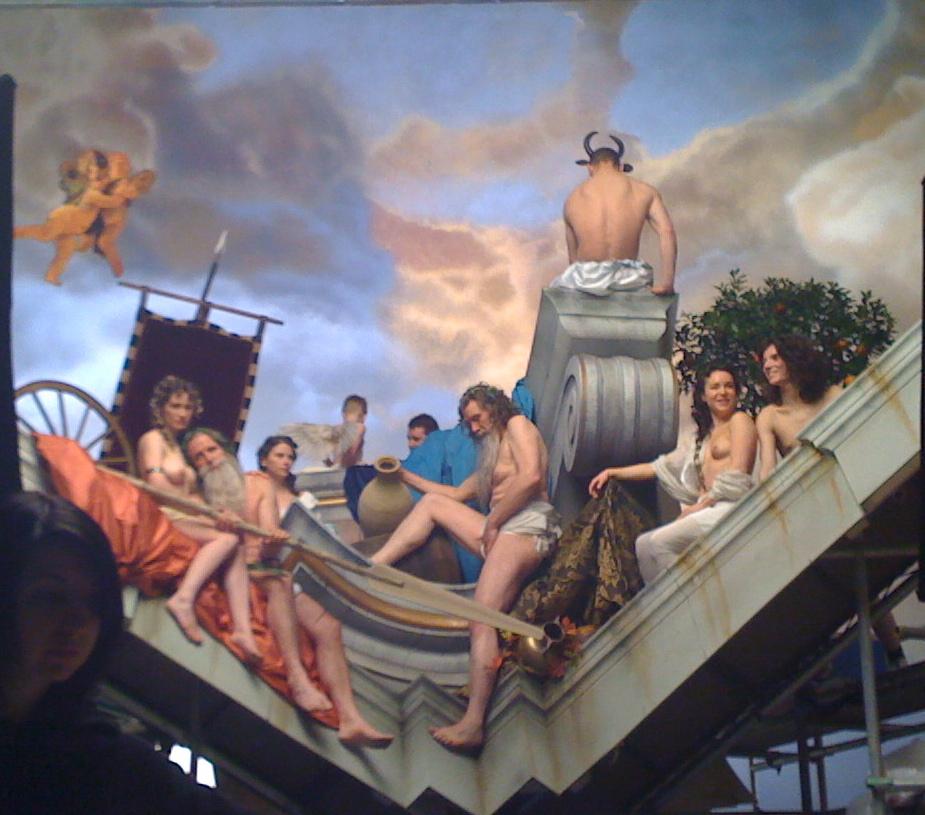 Art installation Philip Haas apollo