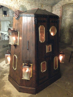 Prop making zombie cabinet for film