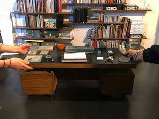 ERNO GOLDFINGER'S OFFICE MODEL