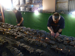 Miniature model Basti village