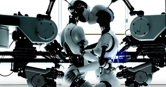 Custom built robot arm props
