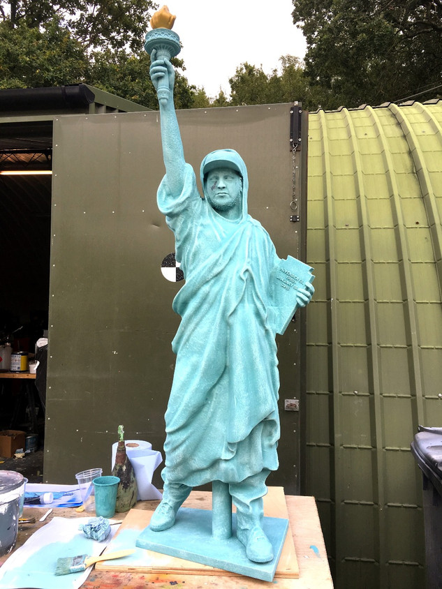 Custom made statue prop