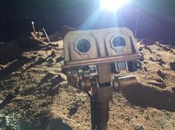Mars Rover Camera model close-up