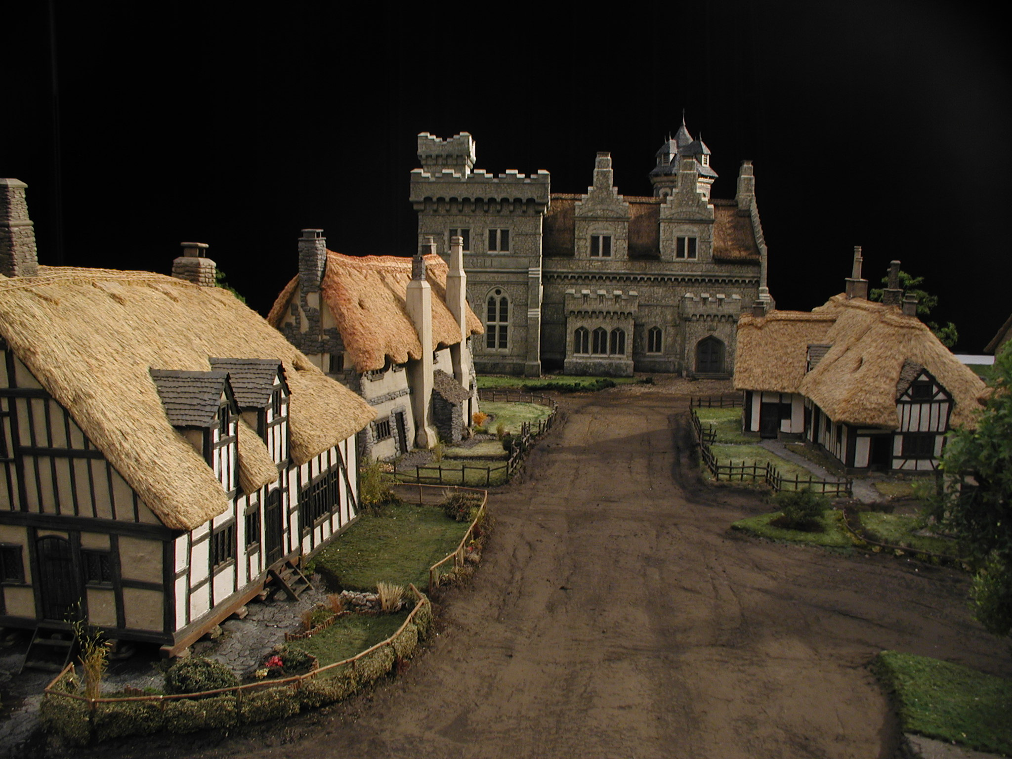 Miniature Models for Ella Enchanted
