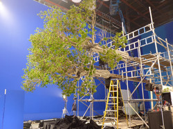 VFX Miniatures Shoot at Shepperton Studios