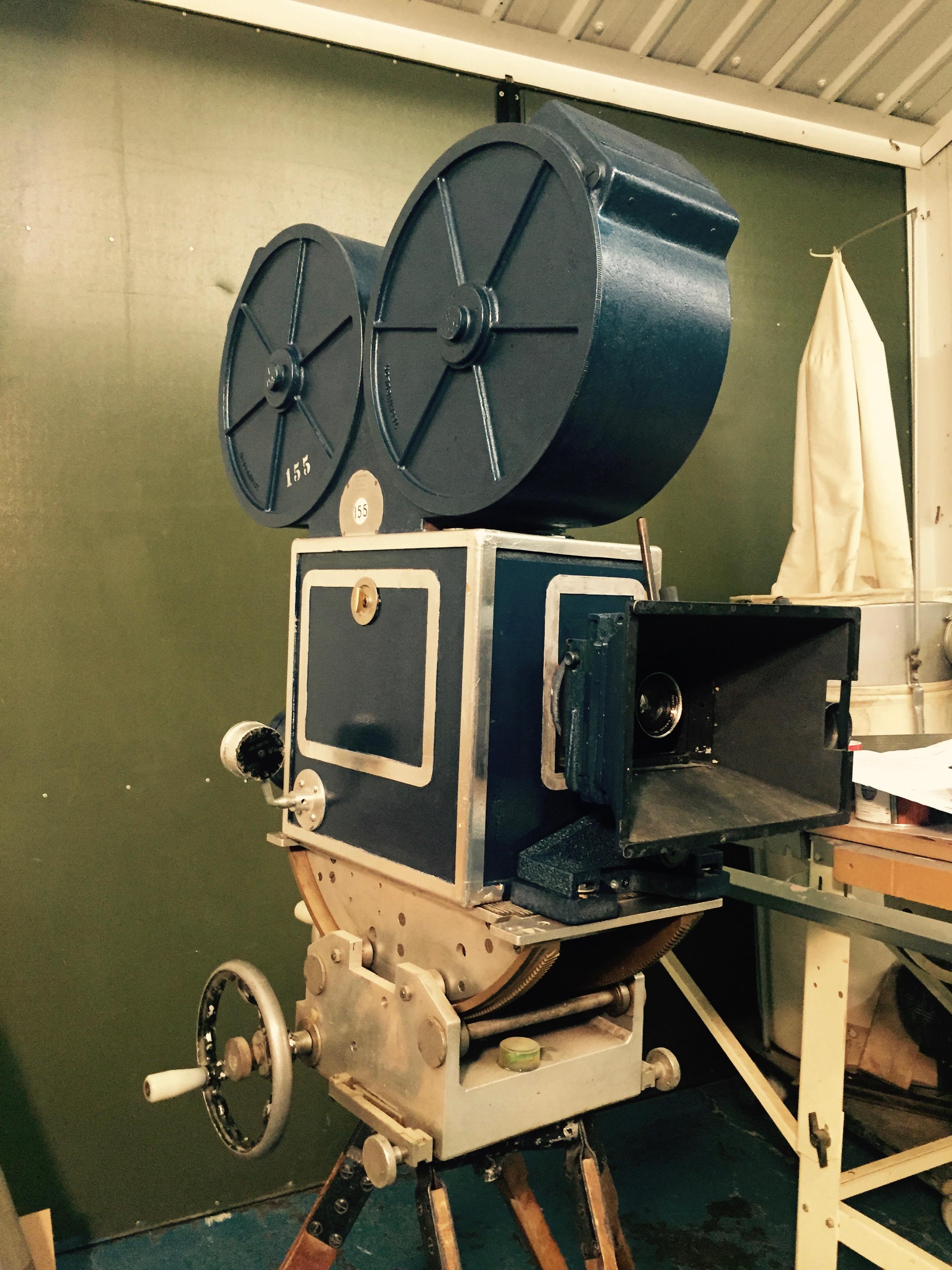 Prop Making Technicolor Camera