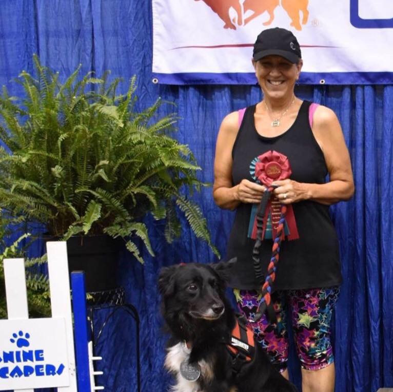 Nancy and Rudy at USDAA Southeaster Regionals