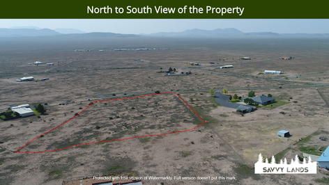 North to South View of the Property.png