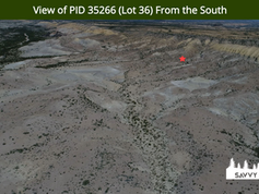 View of PID 35266 (Lot 36) From the Sout