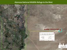 Alamosa National Wildlife Refuge to the