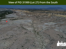 View of PID 31999 (Lot 27) From the Sout