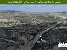 View To The NW Up Seasonal Creek West Of