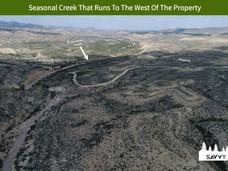 Seasonal Creek That Runs To The West Of