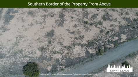 Southern Border of the Property From Abo
