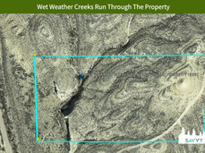 Wet Weather Creeks Run Through The Prope