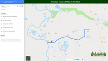 Romayor Texas is 4 Miles to the West.PNG