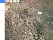 Driving Directions to Laredo, Texas.JPG