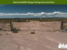 National Wildlife Refuge Parking Area to