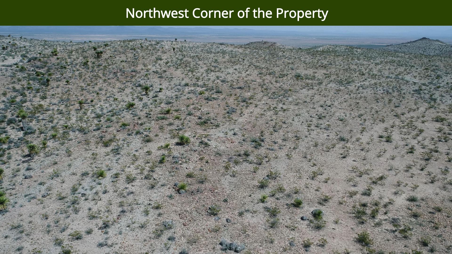 Northwest Corner of the Property
