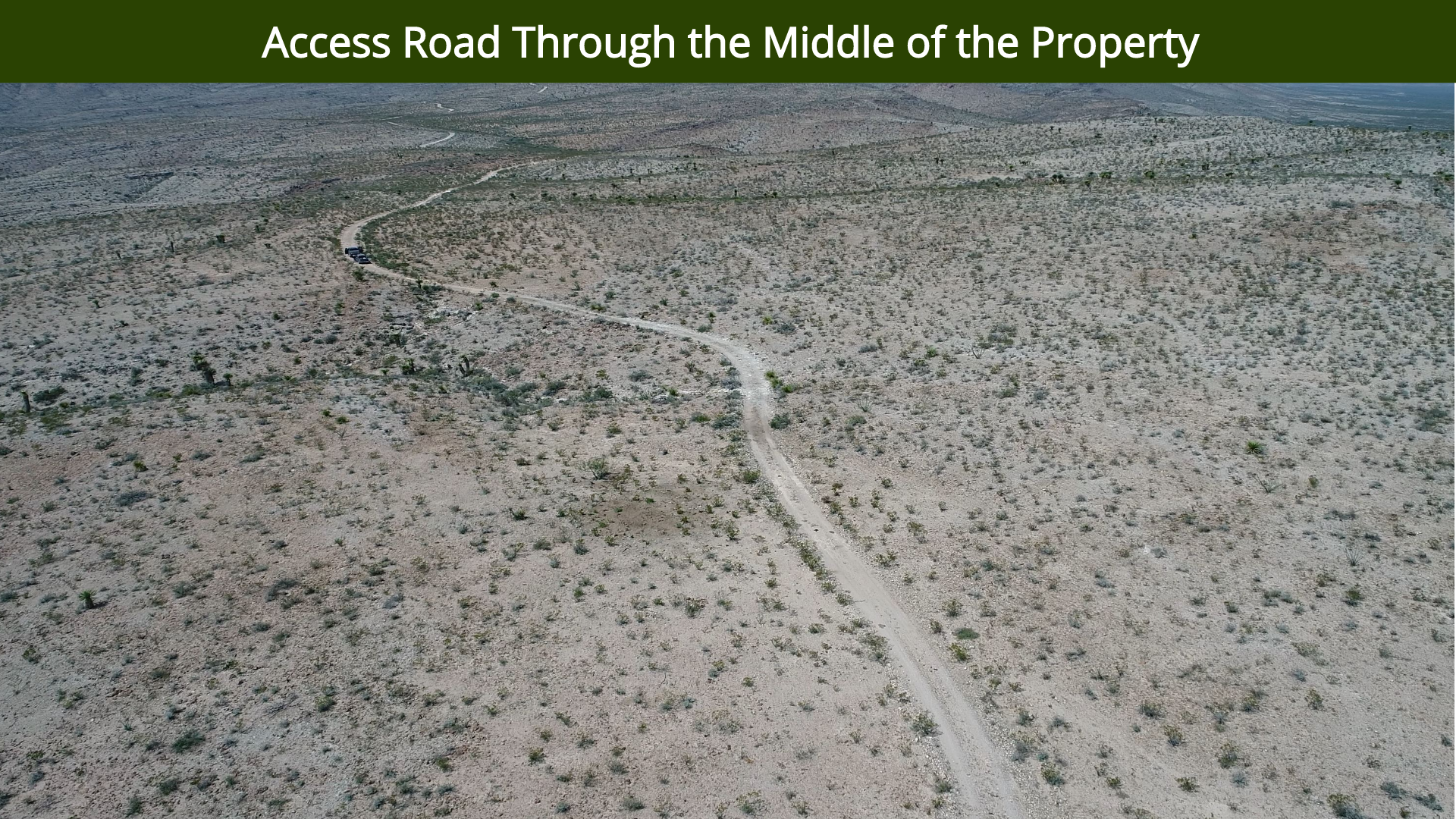 Access Road Through the Middle of the Pr