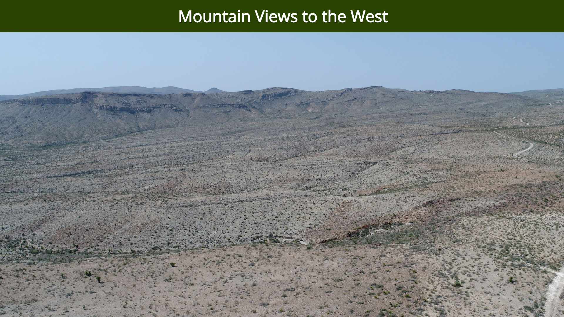 Mountain Views to the West