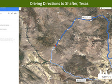 Driving Directions to Shafter, Texas.jpe