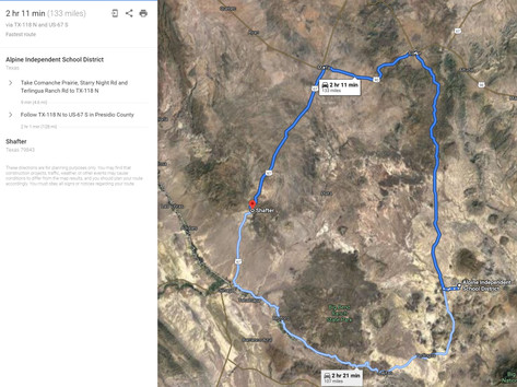 Driving Directions to Shafter, Texas.JPG