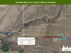 Eastdale Reservoir Under 3 Miles to the