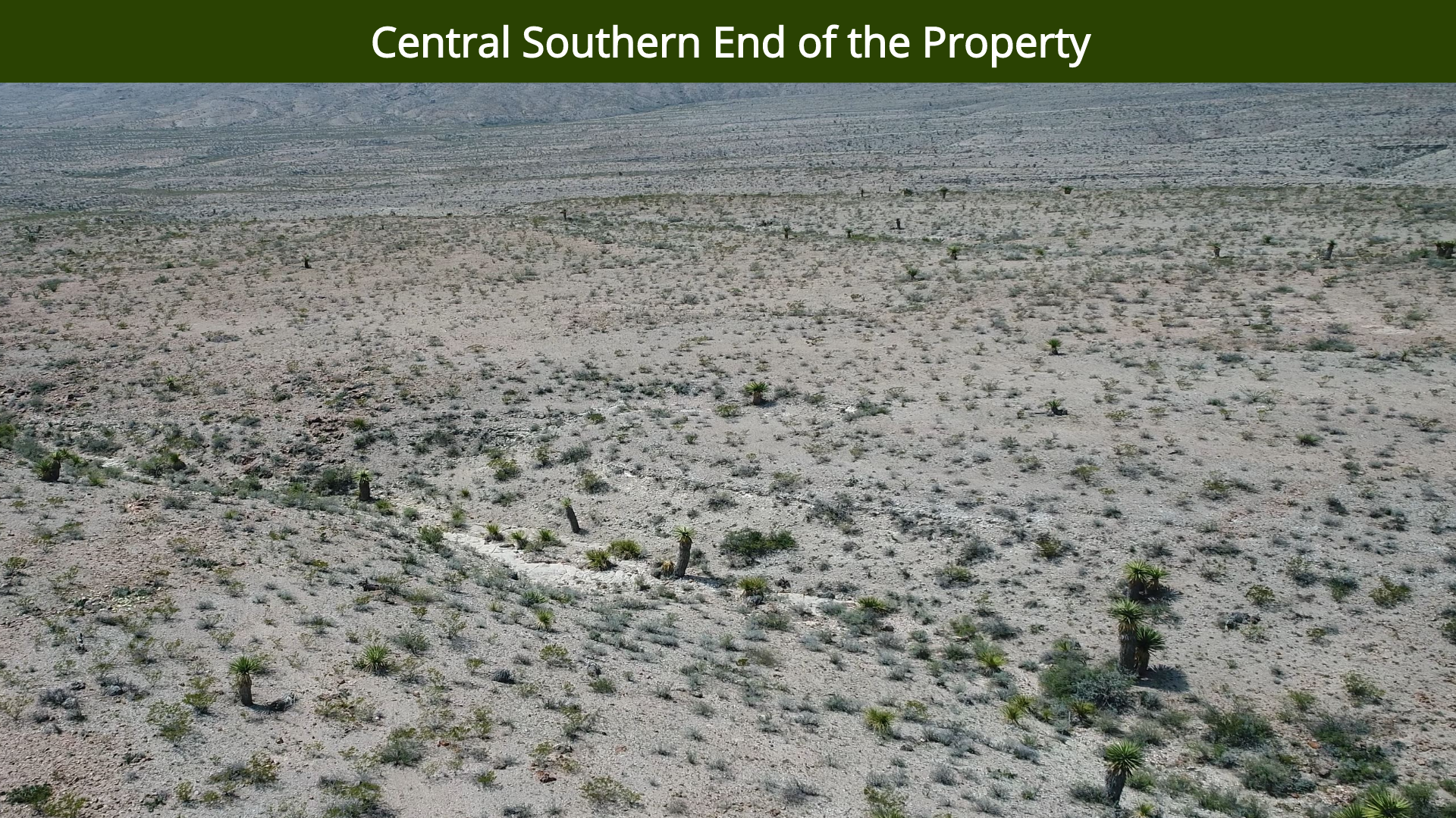 Central Southern End of the Property