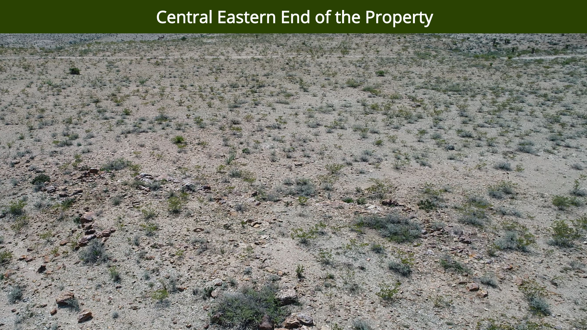 Central Eastern End of the Property