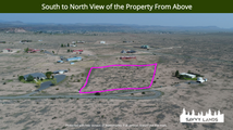 South to North View of the Property From