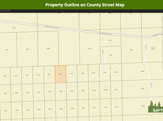 Property Outline on County Street Map.jp