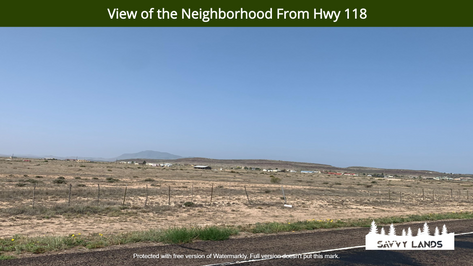 View of the Neighborhood From Hwy 118.pn