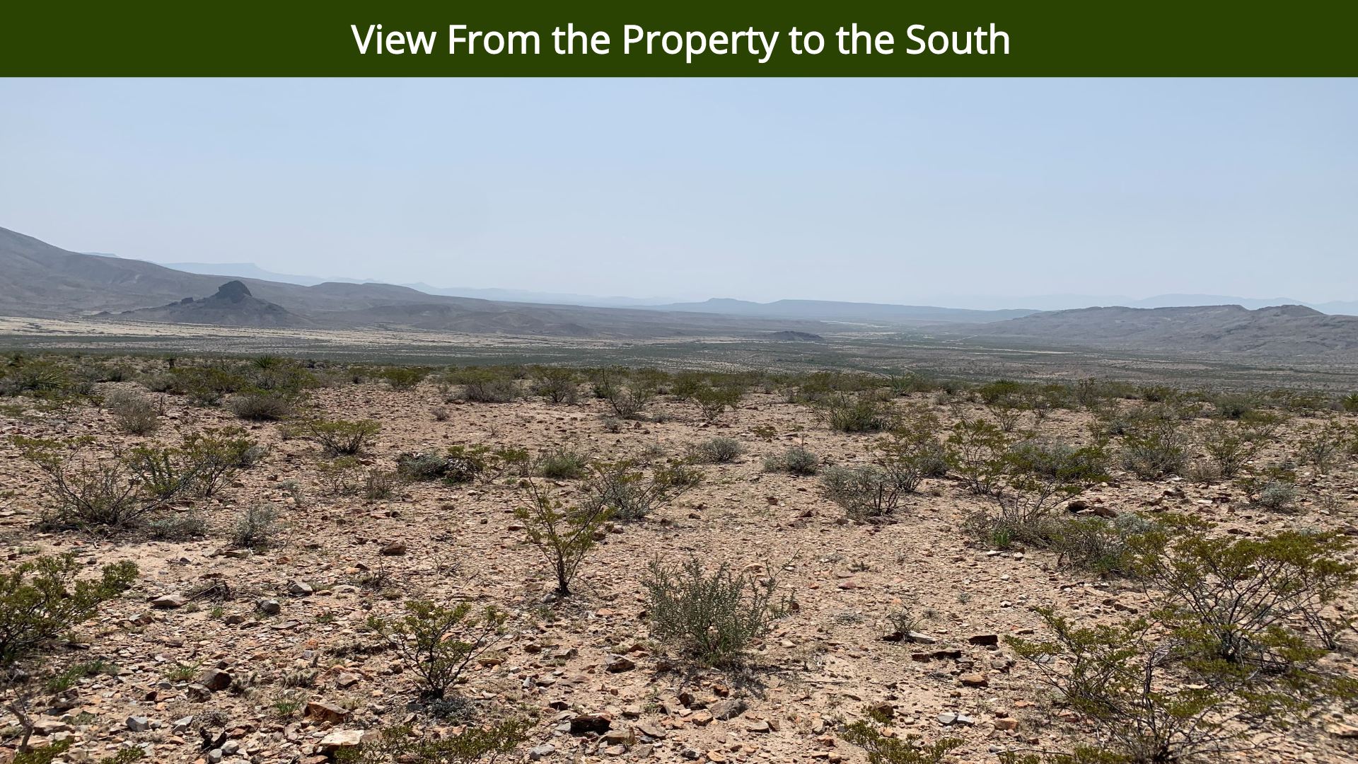 View From the Property to the South