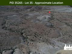 PID 35265 - Lot 35 - Approximate Locatio