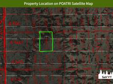 Property Location on POATRI Satellite Ma