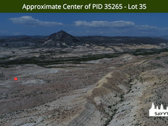 Approximate Center of PID 35265 - Lot 35