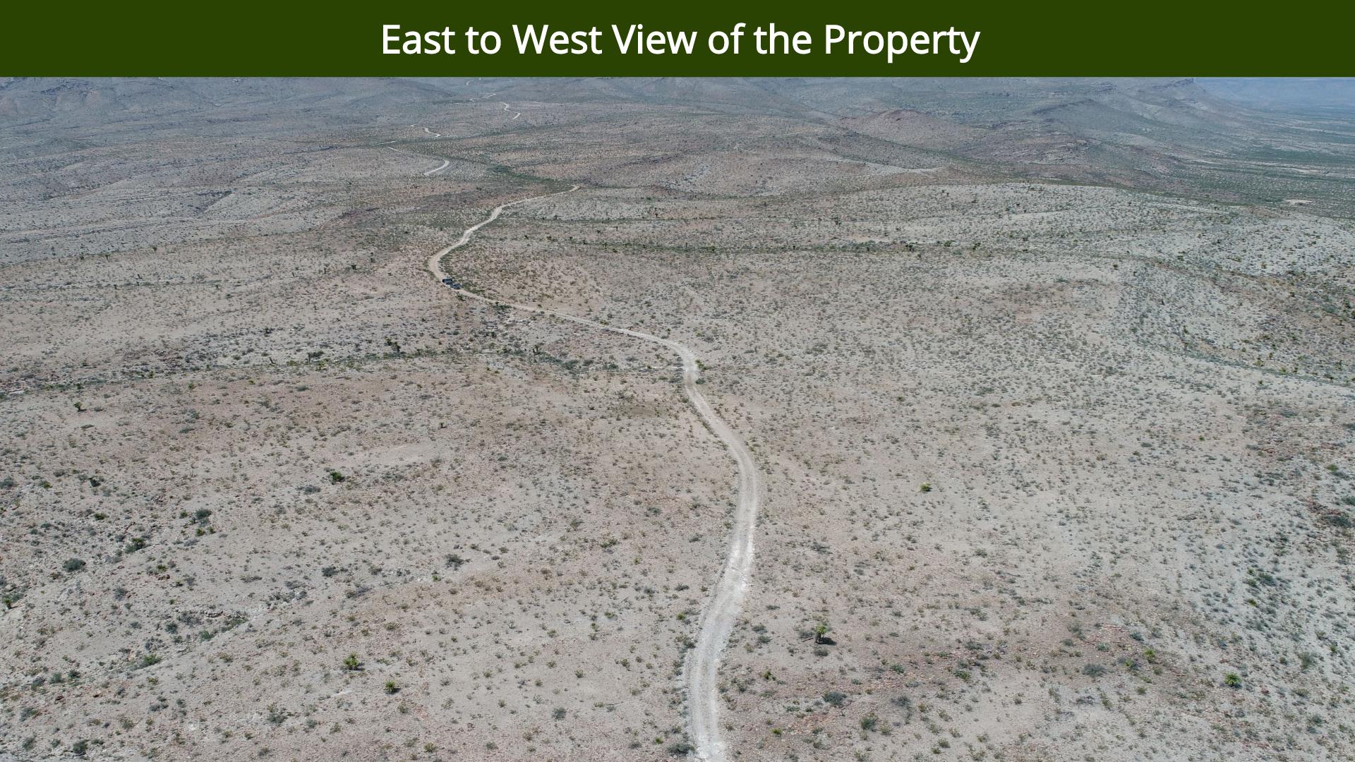 East to West View of the Property