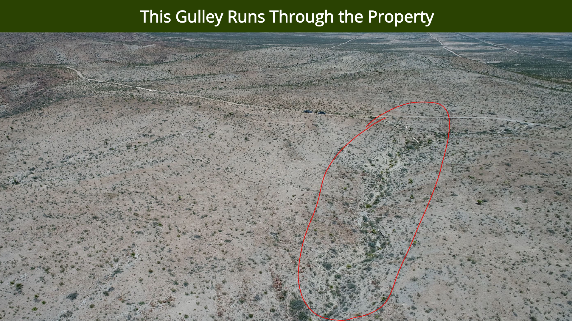 This Gulley Runs Through the Property