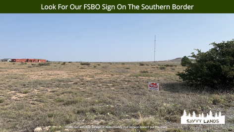Look For Our FSBO Sign On The Southern B