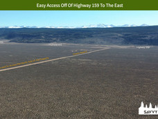 Easy Access Off Of Highway 159 To The Ea