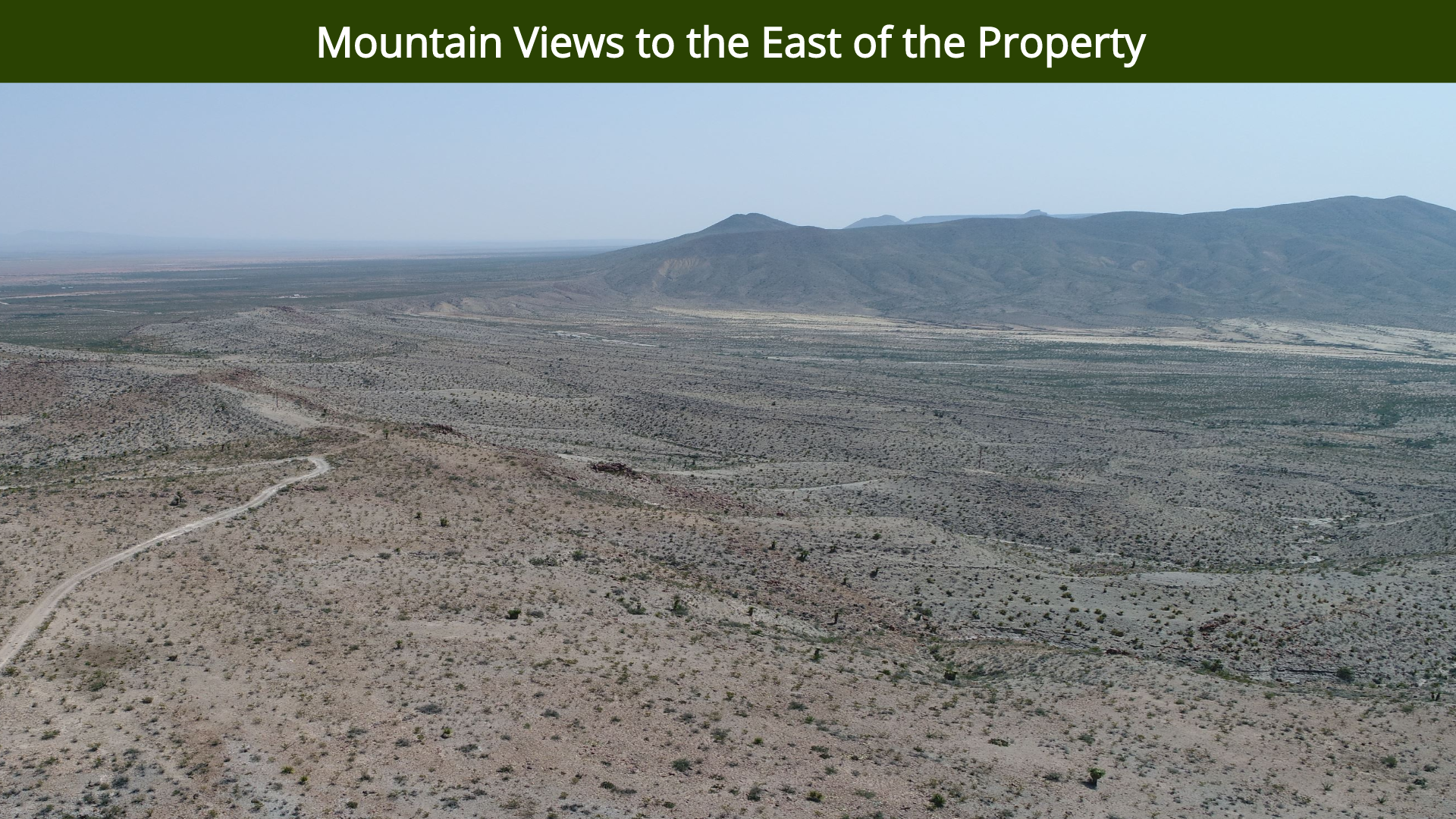 Mountain Views to the East of the Proper