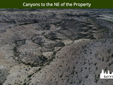 Canyons to the NE of the Property.png