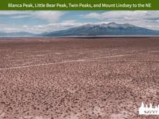 Blanca Peak, Little Bear Peak, Twin Peak