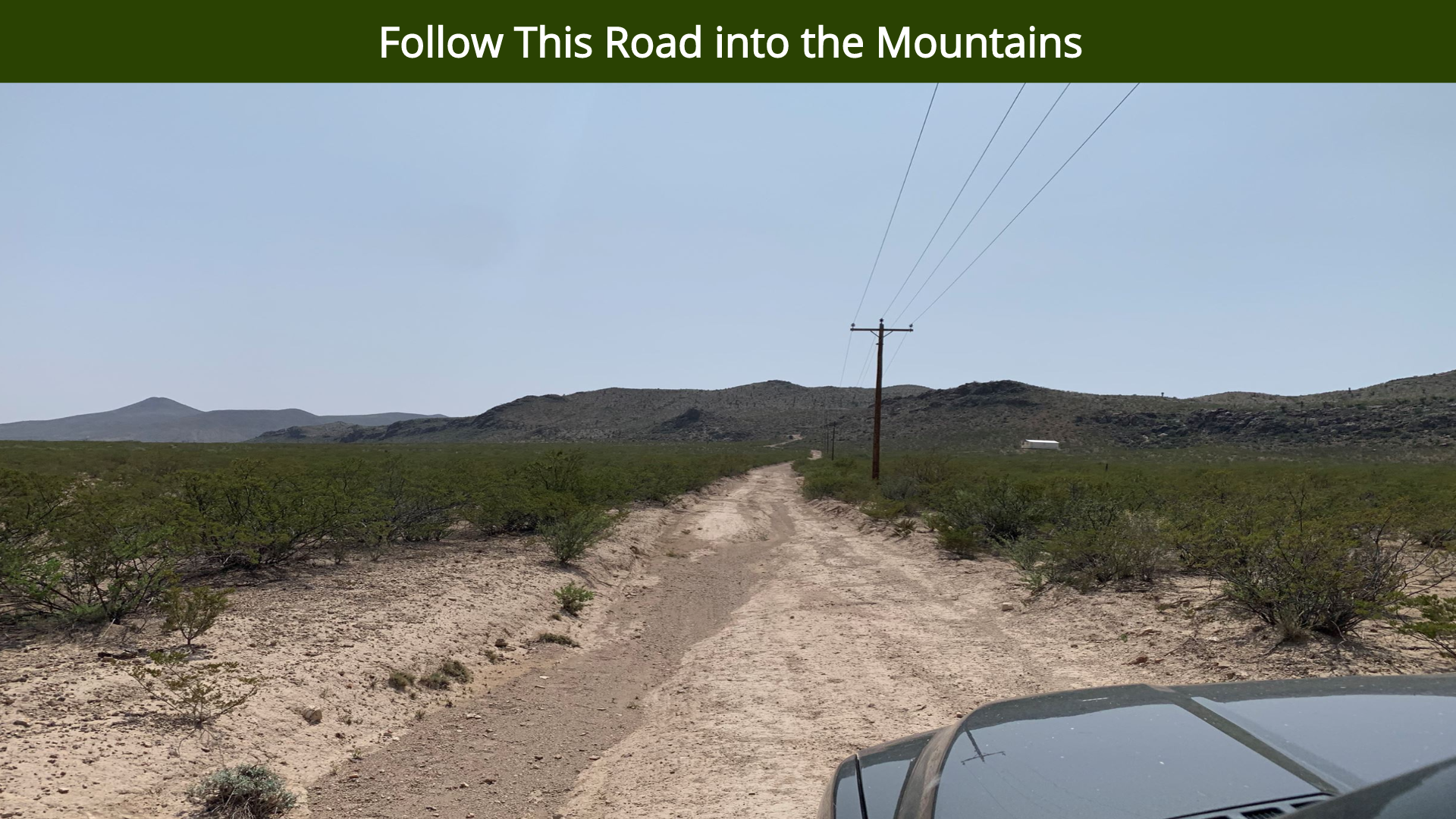 Follow This Road into the Mountains