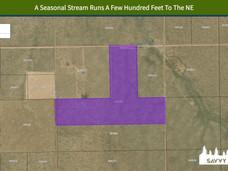A Seasonal Stream Runs A Few Hundred Fee