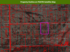 Property Outline on POATRI Satellite Map