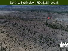 North to South View - PID 35265 - Lot 35